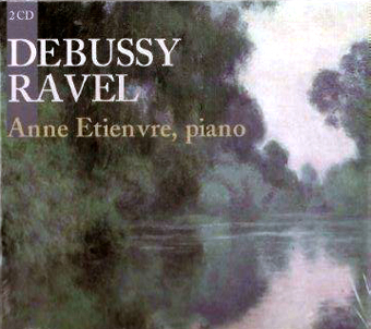 CD Debussy Ravel par Anne Etienvre