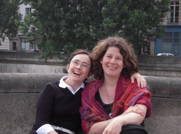 Avec Helene Houzel